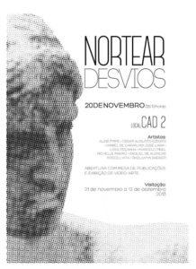 exposição NORTERAR DESVIOS layout Daniel de Carvalho