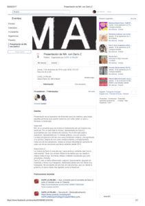 Proyect MA com DARIOZ - exposiáão em Madrid - Espanha