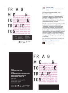 exposição de formandos Fragmentos e Trajetos centro cultural UFMG 2014