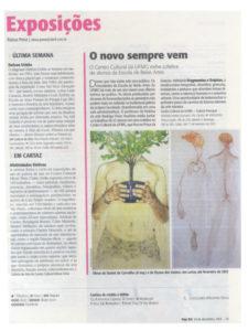 VEJABH cita Daniel de Carvalho sobre exposição Fragmentos e Trajetos