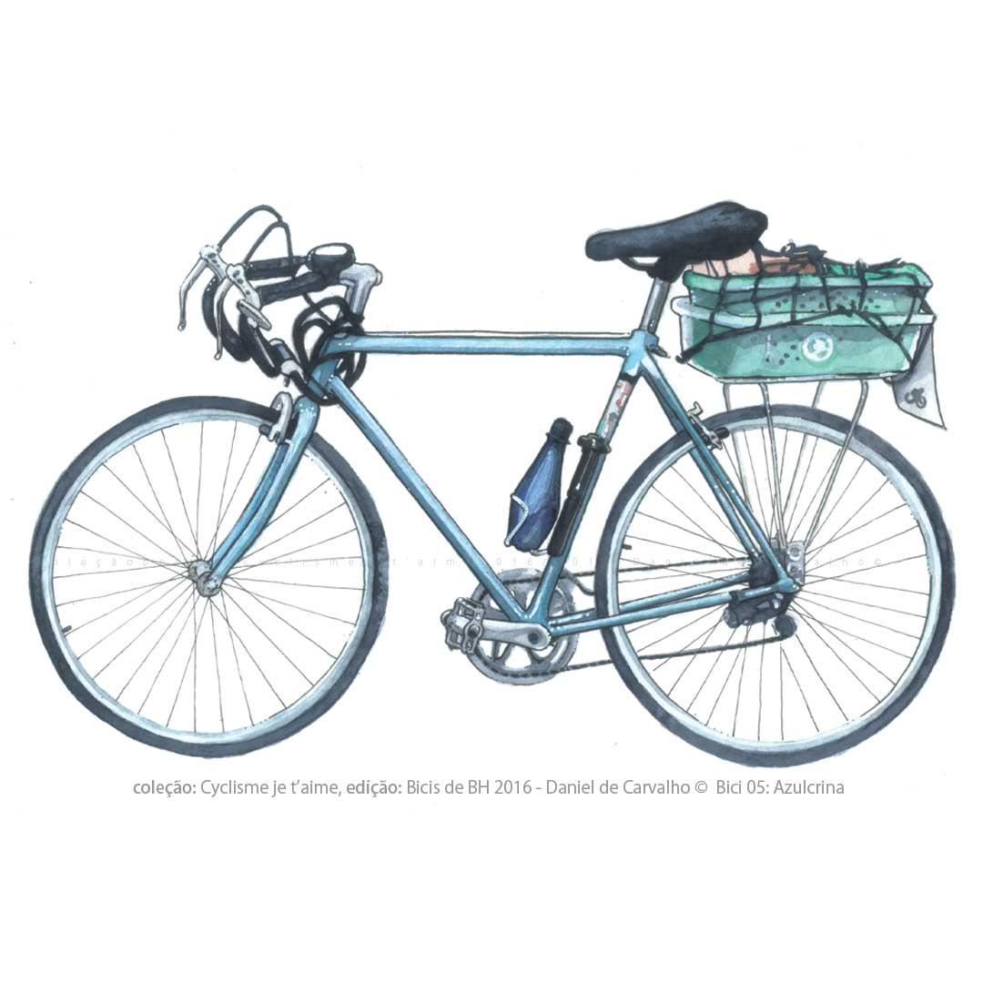 Coleção Postal Cyclisme je t`aime dição: Bicis de BH DanieldeCarvalho© 2016 AZULCRINA