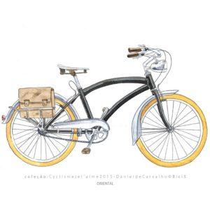 Coleção Postal Cyclisme je t`aime DanieldeCarvalho© 2015 ORIENTAL