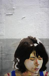 Pintura a óleo: Patricia Reis, 2012/2013 óleo sobre tela 20 x 30 cm Série: Retratos