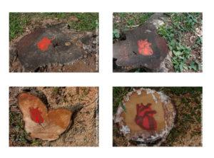 Intervenção Urbana - Genocídio Stencil 2013 Série: O Corpo Árvore