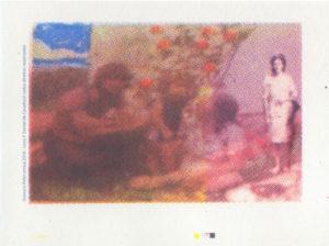 Gravura em Serigrafia Gravura em Serigrafia Policromia 10 em Serigrafia 2016 Imagens para livro P -Daniel de Cavalho© todosdireitos reservados